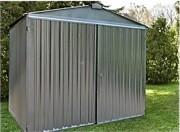 Abri jardin métal brut 3m - Surface :  9,08 m² - 2,54 x 3,4 m