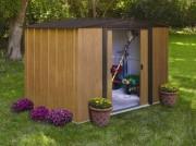 Abri métal de jardin - Surface extérieure : 4.6 m²