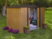 Abri métallique 11.6 m² - Surface extérieure : 11.6 m²