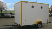 Abri mobile aménagé - Abri isolé pour chantier