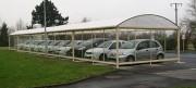 Abri parking vehicule - Hauteur : 2.20 ou 2.50 ou 3 m