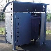 Abri poubelle metallique - Disponible en plusieurs coloris