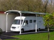 Abri pour camping car sans permis - Plusieurs modèles disponible – Fabrication sur mesure possible