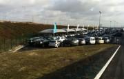 Abri pour parcs automobiles