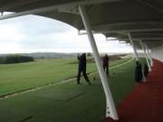 Abri pour practice de golf