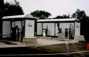 Abri pour station de lavage et d'essence - Hauteur : 2m20 ou 2m50 ou 3m