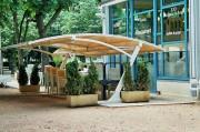 Abri pour terrasse restaurant - Abris modulables pour terrasses de restaurant et magasin – Fabrication sur mesure possible