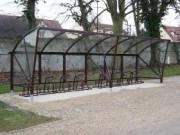 Abri pour vélos modulable en largeur et en longueur - Modulable en largeur et en longueur