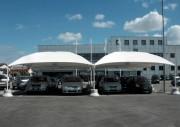 Abri protection voiture - Structure acier galvanisé ou laqué