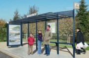 Abri station bus urbaine - Longueur : 3000 mm