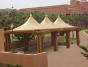 Abri terrasse Charpente galvanisée - Charpente galvanisée