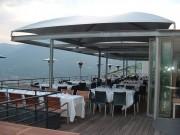Abri terrasse de restaurant