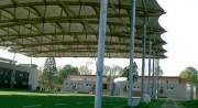Abri textile terrain de sport - Couverture textile