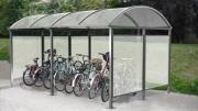 Abri Vélo - Pour milieu urbain - Disponible en 7 coloris