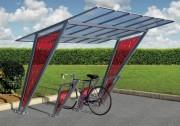 Abri vélo modulable - Hauteur : 2300 mm