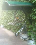 Abri vélo mural vertical - Entre-axes : 450 mm