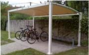 Abri vélo personnalisable - Nombreux modèles possibles