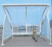 Abri vélos demi lune - 2800 x 2110 x 2365