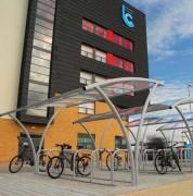Abri vélos modulaire - 5 tailles disponibles - Largeur : 2500 mm