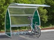 Abri vélos multi usage - Cycles, attente ou fumeurs
