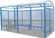 Abri vélos voûte - Abri simple 2500 x 2635 x 2170