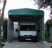 Abri voiture en toile