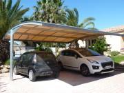 Abri voiture metallique - Surs, fiable et esthétique