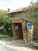 Abri voyageur en bois - Dimenions (L x P) : 2.00 x 1.50 ou 1.50 x 1.50 m
