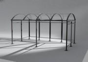 Abribus design - Largeur : 2 500 mm - disponible en 3 longueurs