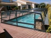 Abris piscine spéciaux - Abri sur mesure