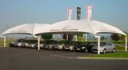 Abris pour concession automobiles - Personnalisables - Sur-mesure