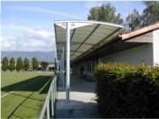 Abris terrain de sport - Longueur des modules : jusqu'à 6,00 m