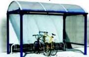 Abris vélos 3,30 x 2,40 m - Abris vélos