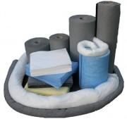 Absorbant en fibre pour hydrocarbures et liquides - Tous liquides - En polypropylène