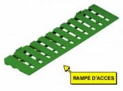 Accessoire caillebotis piéton - Accessoire caillebotis piéton vert 600 x 150