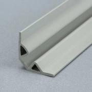Profilé de finition femelle en PVC  - Gamme des plinthes femelle en PVC à lèvres souples 3m