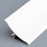 Profilé de finition mâle PVC  - Gamme des plinthes mâle en PVC à lèvres souples