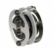 Accouplement flexible à membranes métalliques - Couple maximum transmissible de 0,2 à 0,8 Nm