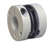 Accouplement flexible à membranes plastiques 0,6 Nm - Couple maximum transmissible 0,6 Nm