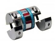 Accouplement flexible à serrage concentrique - Couples maximum transmissibles de 12,5 à 525 Nm
