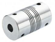 Accouplements flexibles en aluminium à multi-hélicoïdes - Couples max de 0.4 à 1nM