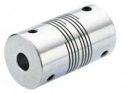Accouplements flexibles en inox à multi-hélicoïdes - Diamètres d'arbre de 1 à 36 mm