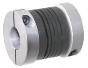Accouplements flexibles en polyamide - Couple maximum transmissible 0,8 Nm