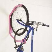 Accroche-vélo mural - Etudié pour la sécurité contre le vol