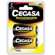 Accumulateur rechargeable 1.2v 3000mah - Taille : 33.0 x 61.5 mm