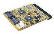 Adaptateur SATA 2 ports - Adaptateur 2 ports SATA sur port IDE de carte mère