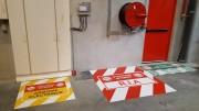 Adhésif sol industriel - Marquage sécurité