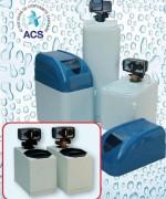 Adoucisseur 20L volumétrique électronique - Résine échangeuse d'ions à haut rendement - ACS