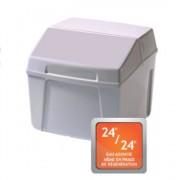 Adoucisseur monobloc blanc professionnel - Sans électricité - Capacité en L : 2x3.3 à 2x9