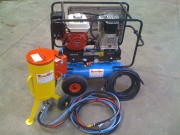 Aerogommeuse portative 8 litres - Aerogommage basse pression